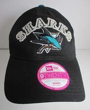 Sharks NHL Hat Cap Youth Lg Women Sm San Jose Hockey New Era