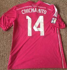 Adidas Real Madrid Soccer Jersey Away 14/15 Season #14 Chicharito NWT Size L