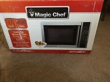 Magic Chef 1.1 Cu. Ft. 1000-Watt Microwave Oven in Stainless Steel - MCM1110ST