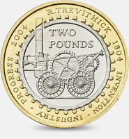 British Coin Hunt £2 Two Pound Circulated Coins - From £2.49
