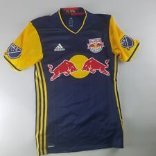 Adidas New York Red Bulls Mens Size Small Authentic Away Jersey MLS $120