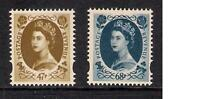 GB 2003 sg2378 2379 Coronation 47p & 68p Wilding prestige booklet stamps MNH