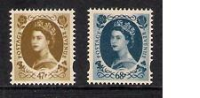 GB 2003 sg2378 2379 Coronation 47p & 68p Wilding prestige booklet stamps MNH