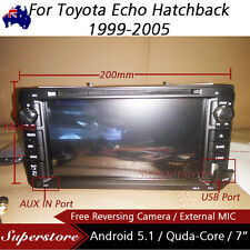 """7"""" Android Quad Core Car DVD GPS For Toyota Echo Hatchback 1999-2005"""