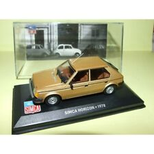 SIMCA HORIZON 1978 Marron ALTAYA 1:43