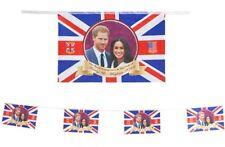 Royal Wedding Bunting. 20ft Prince Harry Meghan Markle Souvenir Party Decoration
