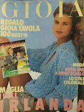 GIOIA N.22 1987