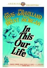 IN THIS OUR LIFE Bette Davis Region Free DVD - Sealed