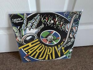 """Hardrive - Deep Inside 12"""" White Vinyl"""