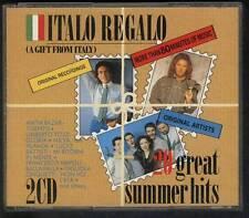 ITALO REGALO 1989 2-CD BOX Matia Bazar Milva Umberto Tozzi Ricchi E Poveri