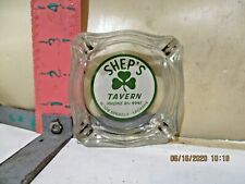 Shep'S Tavern Ashtray - 509 W Sprague In Spokane , Washington - No Damage!