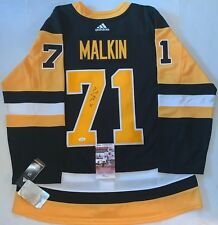 5951f3fc2 Evgeni Malkin signed Pittsburgh Penguins Adidas Authentic Adizero jersey JSA