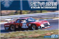 1982 Nissan Skyline R30 Turbo Kyalami 9H Endurance 1:24 Model Kit Aoshima 057483