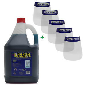 CONCENTRATED BARBERSAFE Disinfectant Germicide for Barbicide Jars & Salons