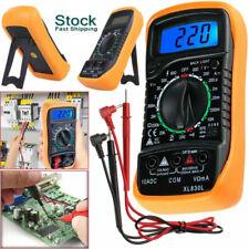 Lcd Digital Multimeter Meter Acdc Voltage Tester Voltmeter Backlighttest Leads