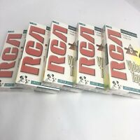 Lot Of 5 NEW RCA T-120H Stereo VHS Video Tapes Sealed Blank FACTORY SEALED