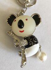 Cute Koala Key Chain Sparkle Key Ring Bag Tag Charm Bling Charms A310