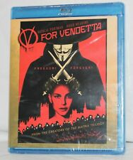 V For Vendetta (Blu-ray Disc, 2008) New Sealed Natalie Portman Hugo Weaving