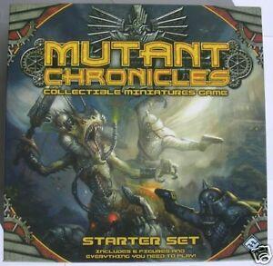 Mutant Chronicles Starter Set Miniatures Game NEW!