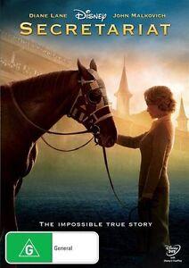 Secretariat DVD (PAL, 2011) Based on a true story - Free Post