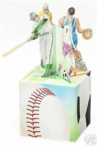 Large Sports Gift Box -Baseball, Football, Soccer