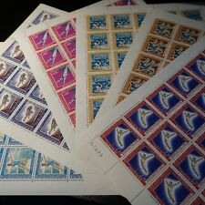 FEUILLE SHEET MONACO N°736/741 x30 JEUX OLYMPIQUES MEXICO 1968 NEUF ** MNH