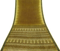 reine Seide ethnischen saree floral gedruckt Vintage craft Stoff sari-PS58213