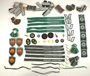 LOT 100+ DDR NVA EAST GERMAN ARMY AIR FORCE & NAVY BADGES & EPAULETTES (NO1)