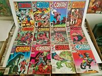 Conan The Barbarian 12 Book Lot #181 to #192 All 25th Anniversary Issue's in VF