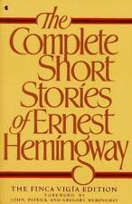 The Complete Short Stories of Ernest Hemingway by Ernest Hemingway (1987, Paperb