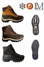 """Free Shipping + Socks Men's 6"""" Winter Snow Boots Work Boots Leather Waterproof B"""
