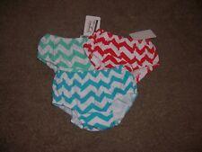 Size small chevron cotton diaper covers lot New