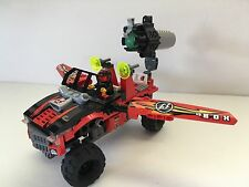 LEGO 8864 Desert Of Destruction Red Truck - TWO MINI FIGURES!