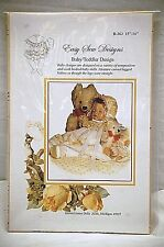 "Easy Sew Designs Brown House Doll Baby Toddler Dress & Bonnet 15"" - 16"" B-363"