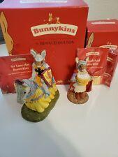 New ListingRoyal Doulton Bunnykins Arthurian Legend Sir Galahad Db299 & Sir Lancelot Db301