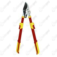 Professional deluxe telescopic ratchet bypass lopper pruning trimming