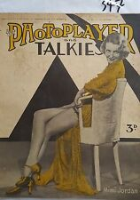 PHOTOPLAYER,1933 DEC 16,MIMI JORDAN Cvr,KATHERINE HEPBURN,PAT HANNA,MARY BROUGH