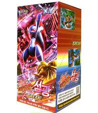 "Pokemon Cards XY Break ""Red Flash"" Booster Box (30 Pack) / Korean Ver"
