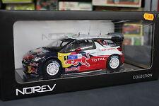 Norev 1/18 Citroën DS3 WRC modele reduit Die Cast neuf