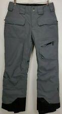 Marmot Waterproof Ski Snowboard Pants Size Small Short Gray Vented Winter Snow