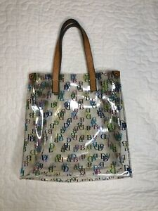 Dooney and Bourke Clear Tote
