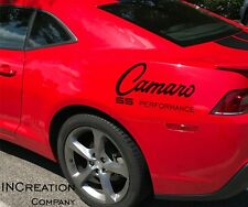 Compatible With Chevrolet Camaro Vinyl Decals SS Stickers Chevy Performance