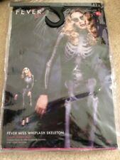 Miss Whiplash Skeleton Fancy Dress Catsuit Halloween XS