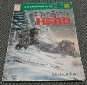 Fantasy Hero - Hero System / Champions - 1st Printing 4th Edition - #502
