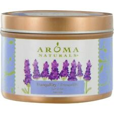 Tranquility Aromatherapy One 2.5X1.75 Inch Tin Soy  Aromatherapy Candle.  The Es