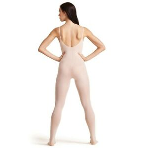 Capezio Ballet Transition Bodytight Convertible Ganzkörperstrumpfhose ULTRASOFT