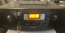 Panasonic RX-D55 USB Tape FM/AM Radio Boombox Dual  Voltage -Working