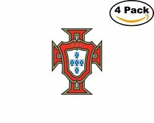 Federacao Portuguesa de Futebol Portugal Club Soccer FC 4 Sticker 4X4 Inches
