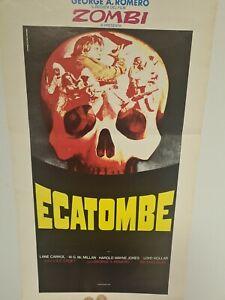 Locandina Cinema Vintage Horror ECATOMBE