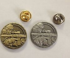 """LOT OF 2: Special Weapons and Tactics SWAT 1"""" Antique Brass & Antique Silver"""